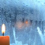 Свеча на окне