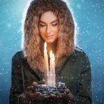 Девушка со свечой